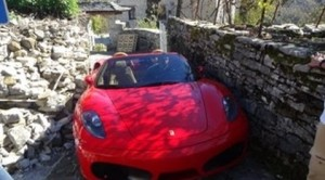 Ferrari F430 in Greece