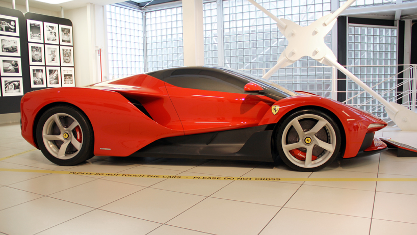 Unseen Concepts For The Laferrari Project Unvieled In New