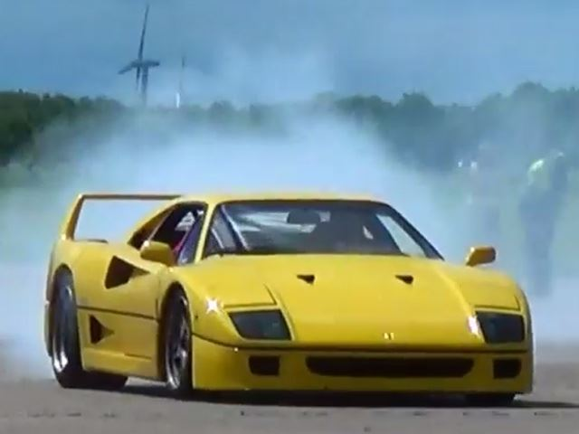 F40 Driven Agressively